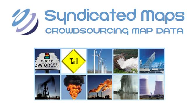 Syndicated Maps logo