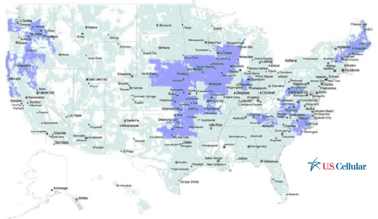 US Cellular Coverage Map
