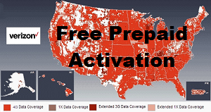 Verizon Free Prepaid Activation