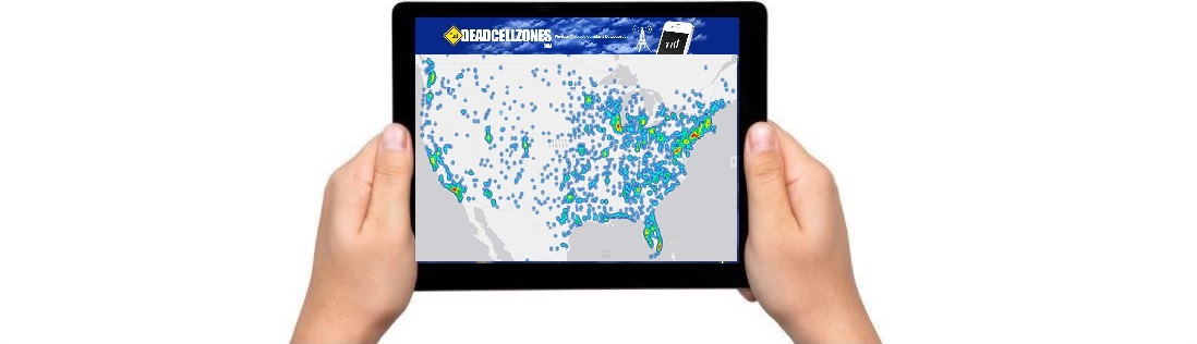 Syndicated Maps Data Marketplace Dead Cell Zones